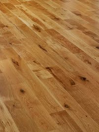 Oak Solid Rustic Lacquered wide